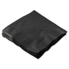"BOARDWALK 10""X10"" Cocktail Napkins 2-PLY - Black"