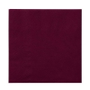 HOFFMASTER Embossed Beverage 2-Ply Napkins - Burgundy