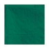 HOFFMASTER Embossed Beverage 2-Ply Napkins - Hunter Green