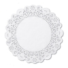 HOFFMASTER Round Lace Doilies - 8""