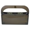 HOSPECO Health Gards® Toilet Seat Cover Dispenser - Smoke, 16wx3-1/4dx11-1/2h