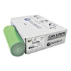 INTEPLAST InteGreen™ OXO Can Liners - 23 Gal., Green