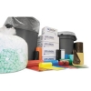 INTEPLAST Institutional Low-Density Can Liners - Red, 7-10 Gal.