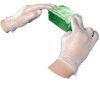 IMPACT Disposable Vinyl Powder-Free General Purpose Gloves - Large