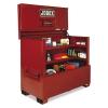 """JOBOX® Piano Box - 60"""" X 31"""" X 50"""", Steel, Red"""