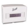 Kimberly-Clark® Scott® Scottfold™ Folded Towel Dispenser - 10 3/4W X 4 3/4D X 9H, White