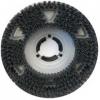 Malish UNI-BLOCK Showerfeed Scrubbing Brush - w/ Universal Clutch Plate - 120 Grit, 18