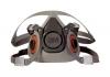 3M Half Facepiece Respirator 6000 Series, Reusable - Large