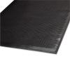 "Guardian Clean Step Outdoor Rubber Scraper Mat - 48"" x 72"", Black"
