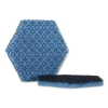 """3M Scotch-Brite™ PROFESSIONAL Low Scratch Scour Pad - 5.75"""" X 5"""", Blue, 15/Carton"""