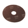 "3M Scotch-Brite™ Surface Prep Floor Pads - 13"" Diameter, Brown, 10/Carton"