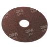"3M Scotch-Brite™ Surface Preparation Pad - 13"" Diameter, Maroon, 10/Carton"
