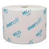 Paper Mor-Soft™ Coreless Alternative Bath Tissue - 1-PLY, 2500 Sheets, 24 RLs/Carton