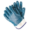 MCR Safety Predator® Premium Nitrile-Coated Gloves, Blue - Large