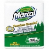 MARCAL 100% Premium Recycled Executive Dinner Napkins - 2-Ply, White