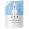 Gel H& Wash Refill - Sweet Water, 34 Oz Pouch, 6/Carton