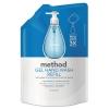 Gel H& Wash Refill - Sea Minerals, 34 Oz Pouch, 6/Carton