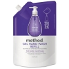 Gel H& Wash Refill - French Lavender, 34 Oz Pouch, 6/Carton