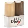 Office Snax® Salt & Pepper Set - 4 OZ Salt, 1.5 OZ Pepper