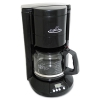 RUBBERMAID Home/Office 12-Cup Coffee Maker - Black