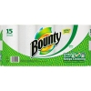 PROCTER & GAMBLE Bounty® Perforated Towel Roll, White - 2-ply