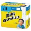 PROCTER & GAMBLE Bounty® Essentials Select-A-Size Paper Towels - 2-PLY, 83 Sheets/RL, 6 RLs/Carton