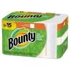 PROCTER & GAMBLE Bounty® Paper Towels - 2-PLY, White, 45 Sheets/RL, 12 RLs/Carton