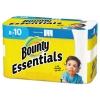 PROCTER & GAMBLE Bounty® Essentials Select-A-Size Paper Towels - 2-PLY, 78 Sheets/RL, 8 RLs/Carton