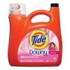 PROCTER & GAMBLE Tide® Plus a Touch of Downy® Liquid Laundry Detergent - April Fresh, 138 oz Bottle, 4/Carton