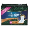 PROCTER & GAMBLE Always® Ultra Thin Overnight Pads with Wings - 38/PK, 6 PK/Carton