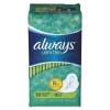 PROCTER & GAMBLE Always® Ultra Thin Pads with Wings - Super Long, 32/PK, 6/Carton