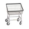 R&B Wire Front Load Laundry Cart - 2.25 Bushel