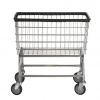 R&B Wire Large Capacity Laundry Cart - 4.5 Bushel
