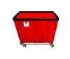 R&B Wire 10 Bushel Permanent Liner Basket Truck - 350 LBS Capacity