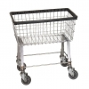 R&B Wire Economy Laundry Cart - 2.5 Bushel
