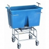 R&B Wire Mobile 249 lb. Scale with Poly Tub - Not Legal for Trade