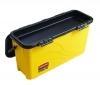 RUBBERMAID Microfiber Top Down Charging Bucket - 3/CS
