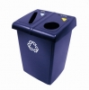 RUBBERMAID Glutton® Recycling Station - 2-Stream
