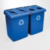 RUBBERMAID Glutton® Recycling Station  - 92 Gallon