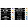 RUBBERMAID Recycle Label Kit -
