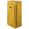 RUBBERMAID Commercial Vinyl Cleaning Cart Bag - 34 Gal, Yellow