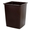 RUBBERMAID 56-Gallon Container - Brown