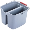 RUBBERMAID Brute® Plastic Buckets - 19-qt. Double Pail