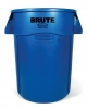 RUBBERMAID 44-Gallon Brute® Utility Container - Blue