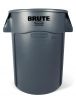 RUBBERMAID 44-Gallon Brute® Utility Container - Gray