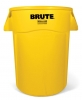 RUBBERMAID 44-Gallon Brute® Utility Container - Yellow