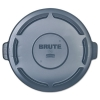 "RUBBERMAID Commercial Vented Round Brute® Lid - 24 1/2"" x 1 1/2"""