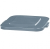 RUBBERMAID 40-Gallon Brute® Square Lid - Gray
