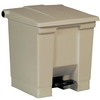RUBBERMAID Plastic Step-On Receptacles - Medical Waste