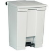 RUBBERMAID Plastic Step-On Garbage Can - Medical Waste